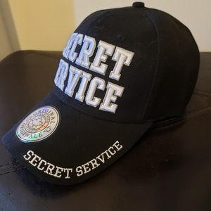 premium quality country leather Accessories - SOLD! NWOT! Unisex Secret service baseball cap
